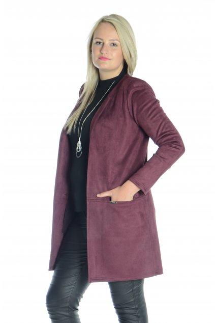 0921 Kabátek Línie vínová o241 (1)