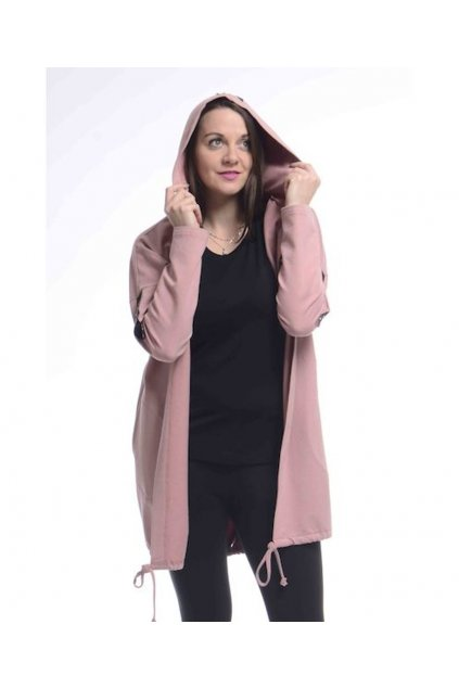 0421 Kabátek Romance (Velikost 36, Barva Růžová)