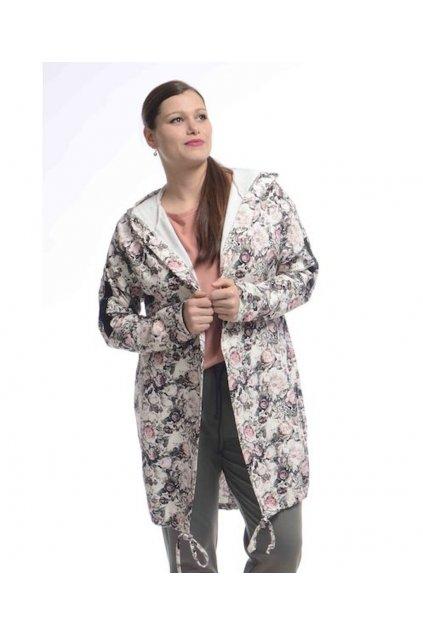 0421 Kabátek Romance (Velikost 36, Barva Vzorovaná)