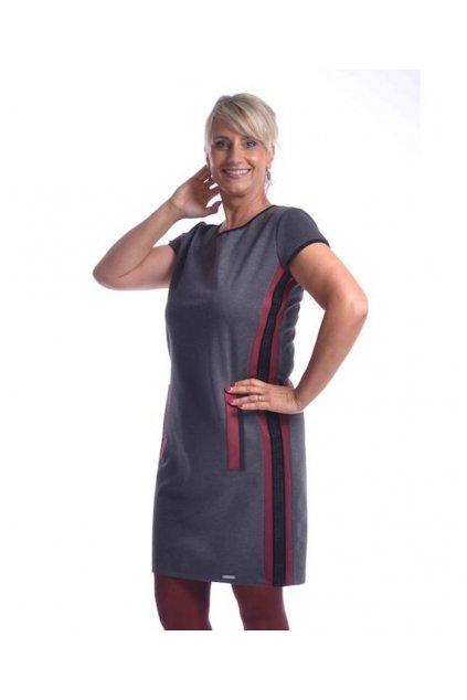 9120 Šaty Style uni (Velikost 36, Barva Černá)
