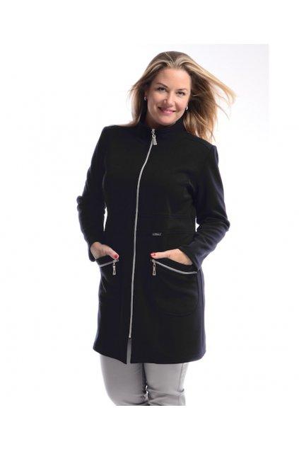 7120 Kabát Elegance (Velikost 36, Barva Černá)