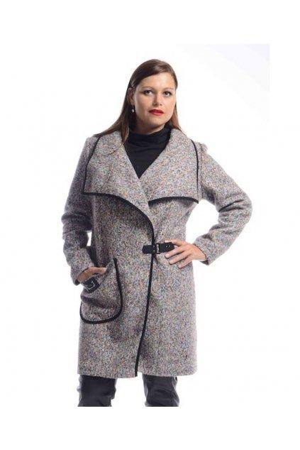 7220 Kabát Bella (Velikost 36, Barva Vzorovaná)