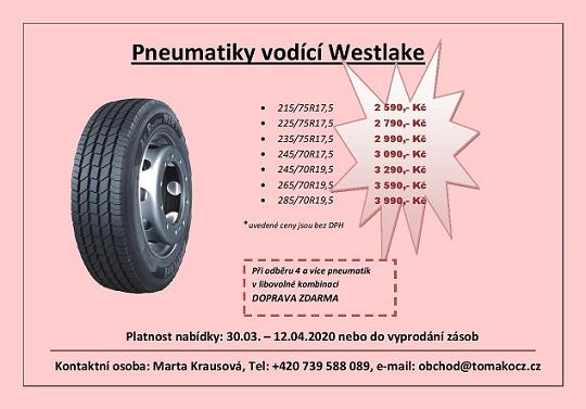 vodící pneu 17,5; 19,5