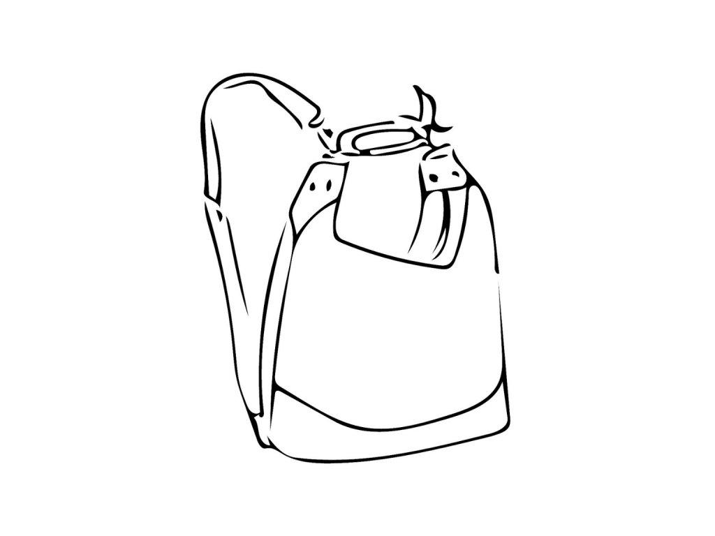 Kozena kabelka Alice na zada ikona