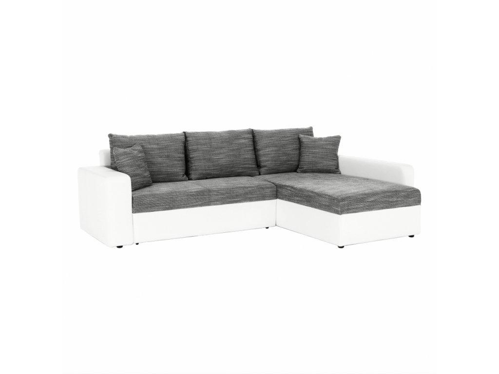 VIPER - Rohová sedacia súprava, sivá, 0000042286, 84
