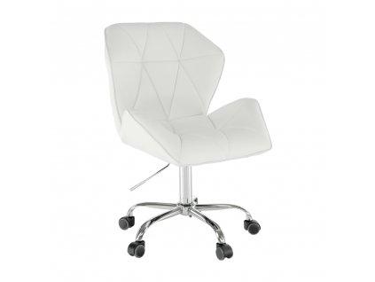 Kancelárske kreslo, biela, TWIST