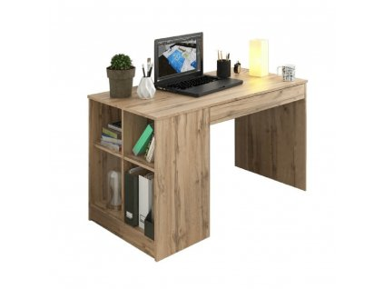 VENDI - PC stôl, dub, 0000235938, 84