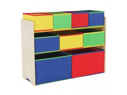 NORDEN - Organizér na hračky, viacfarebné, 0000274465, 84