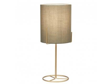 Stolná lampa, kov/sivohnedá Taupe, ANELE