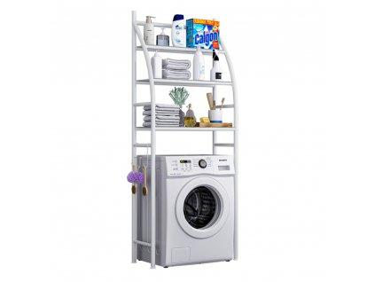Regál nad práčku, biela, VIMERA