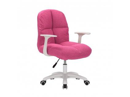 Kancelárske kreslo, ružová, TALBOT