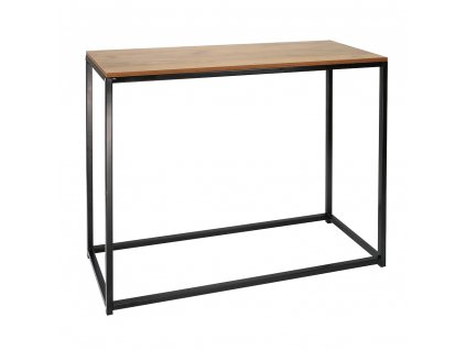 Konzolový stolík, čierna, KALISTO