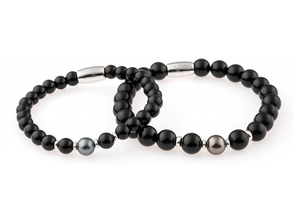 Párové náramky Black Tahiti Pearl