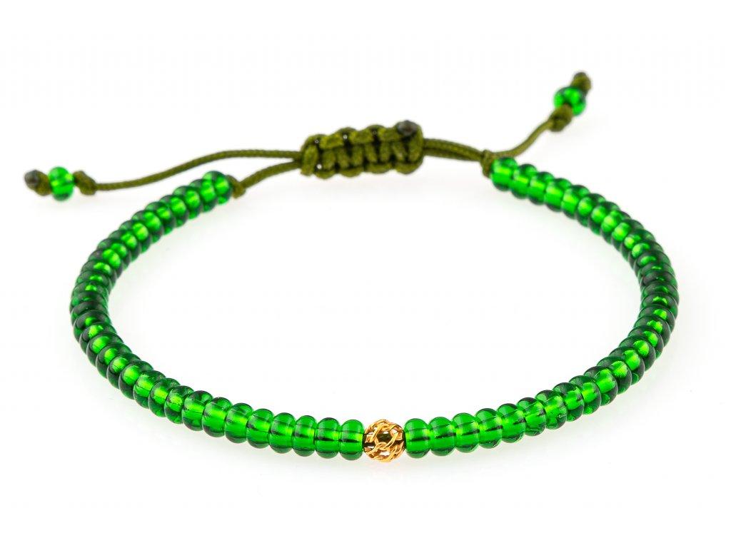 Dámský náramek Preciosa perly - Green light