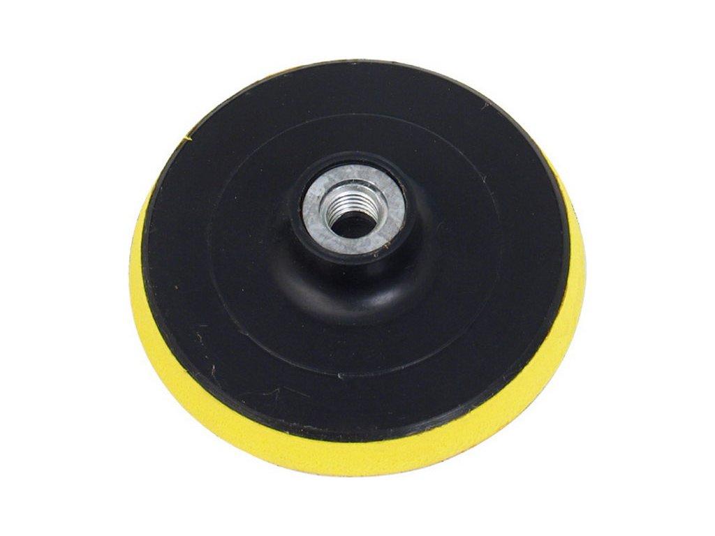 nosič brusných výseků - M14, suchý zip, ∅125mm, s vloženou vrstvou měkké a ohebné pěny, EXTOL CRAFT