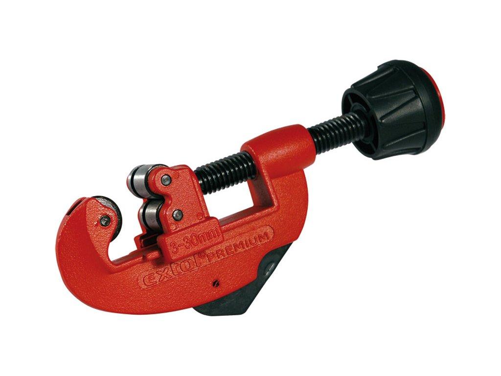 "řezač trubek sodhrotovačem, ∅3-30mm, (O 1/8""-1 1/8""), řezací kolečko 18x4x4,8mm, HSS, EXTOL PREMIUM"