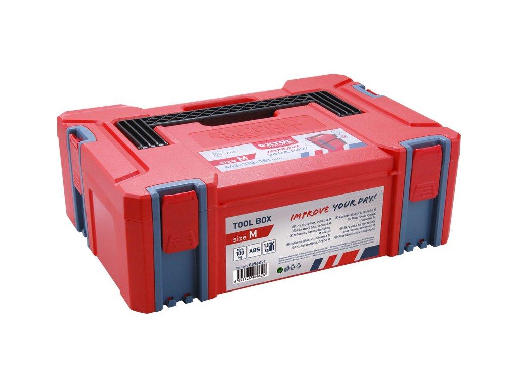 EXTOL PREMIUM - box plastový 443x310x151mm