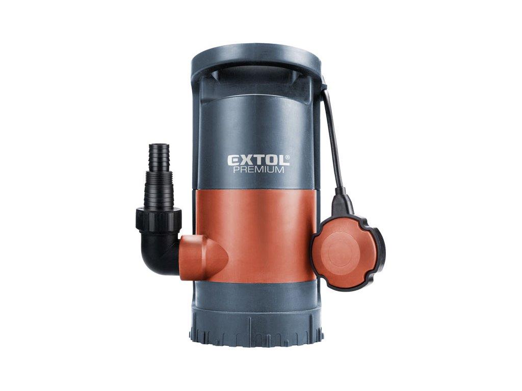EXTOL PREMIUM SP 900 - čerpadlo na znečištěnou vodu 3v1, 900W