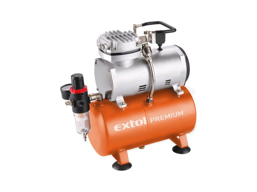 Kompresor EXTOL PREMIUM AC-S3 150W  + Dárek dle vlastního výběru