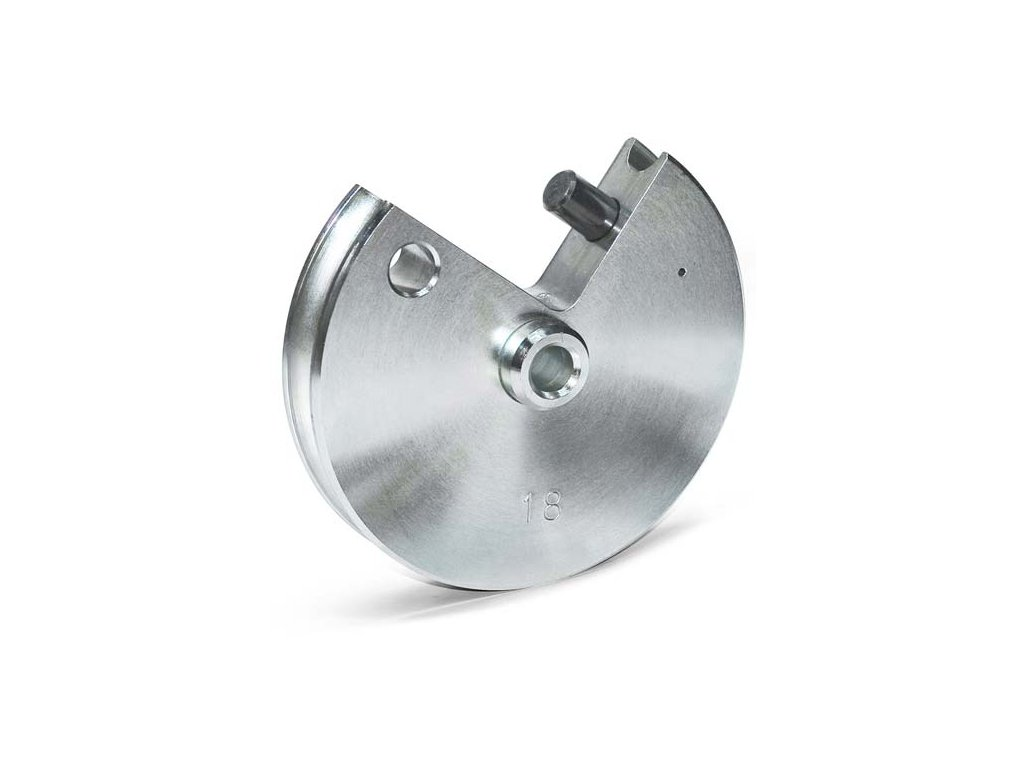 Segment Ø 18 - 2,5 D / rádius 45 mm