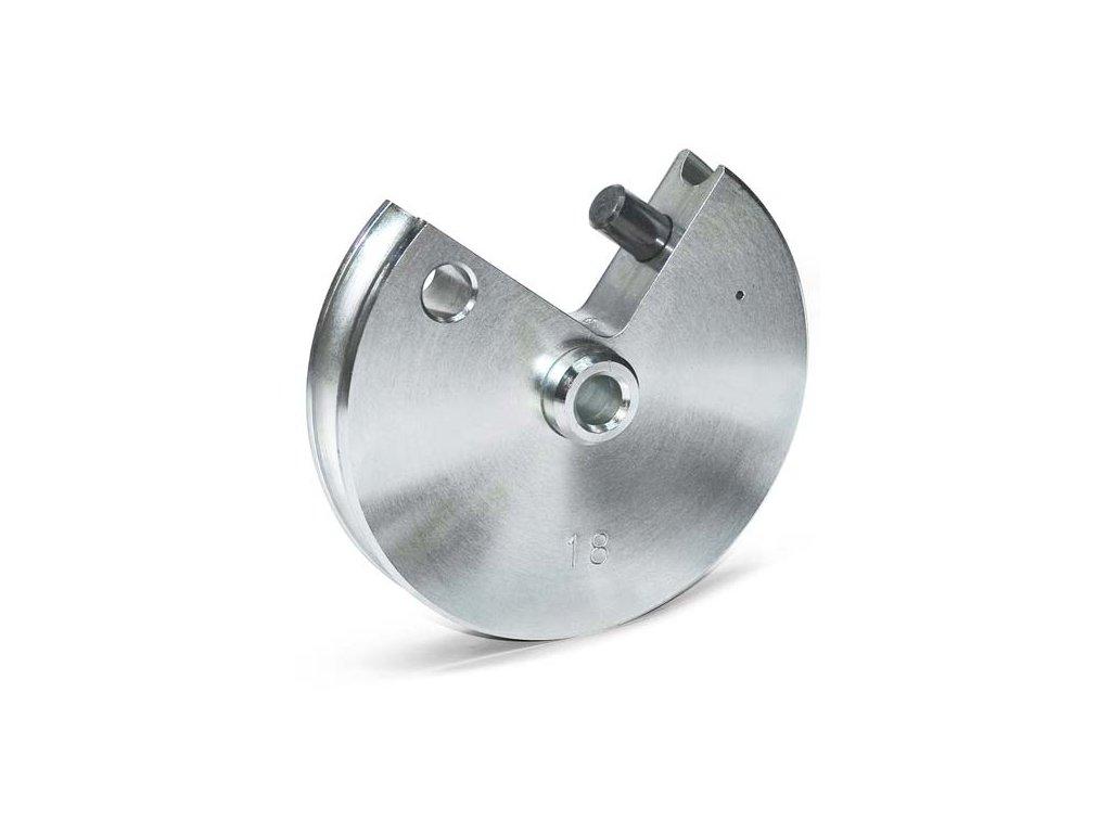 Segment Ø 22 - 2,5 D / rádius 55 mm