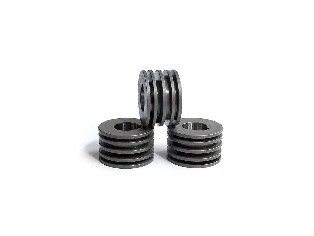 Kladky pro pásovou ocel 5/8 mm na výšku (max. 50 mm)  + Dárek dle vlastního výběru