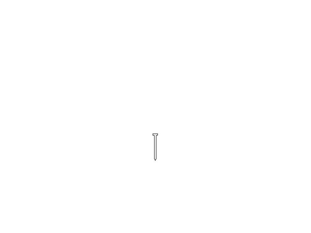 Hřebíky Typ F, 15 mm (5 000 ks)