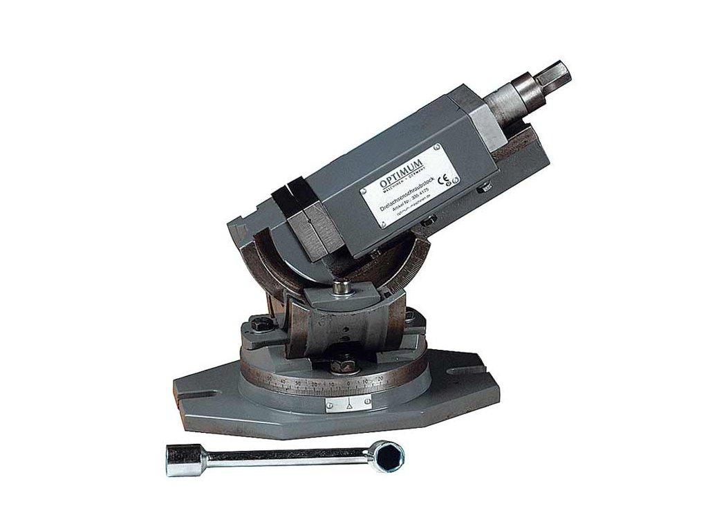 Trojosý otočný svěrák MV3-125  + Dárek dle vlastního výběru