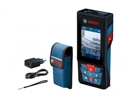 Laserový měřič vzdálenosti - Bosch GLM 120 C  + Dárek dle vlastního výběru