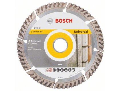 Diamantový kotouč 150mm - Bosch STANDARD