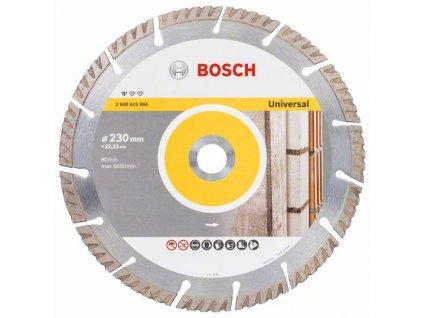 Diamantový kotouč 230mm - Bosch Standard for universal