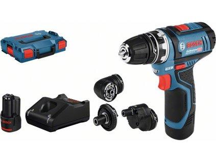 Aku vrtací šroubovák - Bosch GSR 12V-15 FC  + Dárek dle vlastního výběru