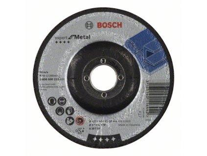 Brusný kotouč profilovaný - Bosch Expert for Metal - 125 x 6 mm