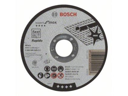 Řezný kotouč na nerez - Bosch Standard 115x1 mm