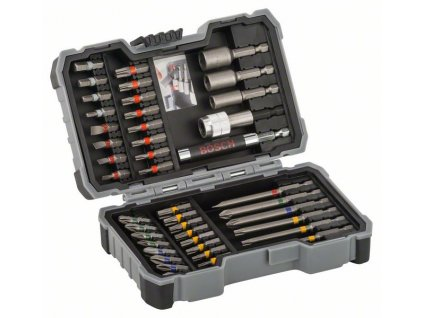 43dílná sada bitů a nástrčných klíčů - Bosch