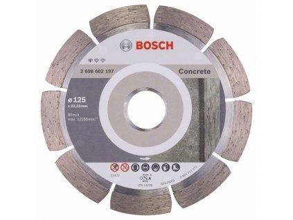 Diamantový dělicí kotouč - Bosch Standard for Concrete 125 mm