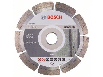 Diamantový kotouč 150mm - Bosch Standard for concrete