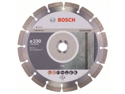 Diamantový kotouč 230mm - Bosch Standard for concrete