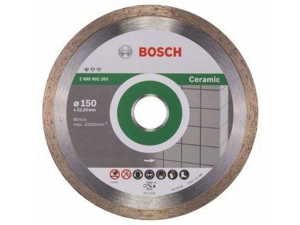 Diamantový dělicí kotouč  - BoschStandard for Ceramic 150 x 22,23 x 1,6 x 7 mm
