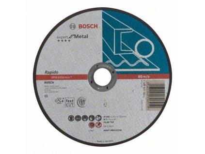 Řezný kotouč na kov - Bosch expert for Metal 180 x 1,6 mm