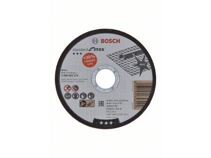 Řezný kotouč na kov -  Bosch standard for Inox  115x1,6 mm