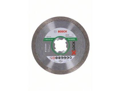 Diamantový řezný kotouč  - Bosch Standard for Ceramic systému X-LOCK 115×22,23×1,6×7 mm