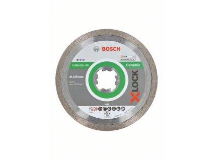 Diamantový řezný kotouč - Bosch Standard for Ceramic systému X-LOCK 125 x 22,23 x 1,6 x 7 mm