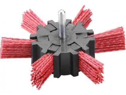 kartáč okružní leštící, ∅100mm, nylon, stopka 6mm, NYLON, EXTOL CRAFT
