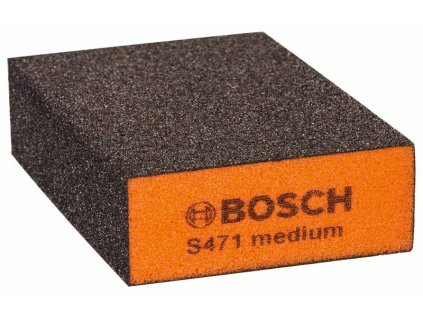 Brusná houba - Bosch Best for Flat and Edge 68 x 97 x 27 mm střední hrubost