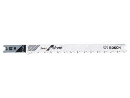 Pilový plátek do přímočaré pily - Bosch U 101 B Clean for Wood