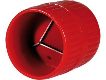 """odhrotovač trubek vnitřní i vnější, plastový, ∅4-38mm, (O 3/16""""-1 1/2""""), plastové tělo, tři kalené broušené břity z HCS oceli, použití na odhrotování vnitřních i vnějších hran všech typů trubek, HCS, EXTOL PREMIUM"""