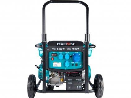 Elektrocentrála benzínová 17HP/8,2kW, podvozek, elektrický start  + Dárek dle vlastního výběru