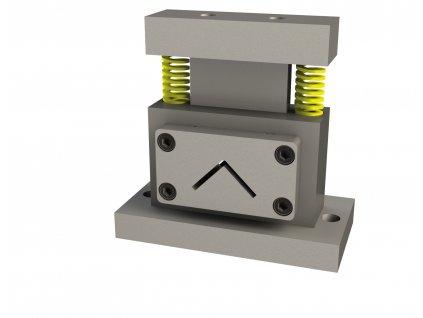 Děrovací nástroj pro stříhání L-profilů oceli max. 35 x 35 x3mm