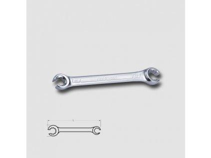 Klíč na převlečné matice 14x17 matný